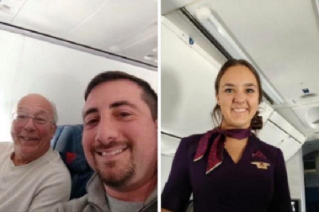 Compró boletos en seis vuelos solo para pasar tiempo con su hija