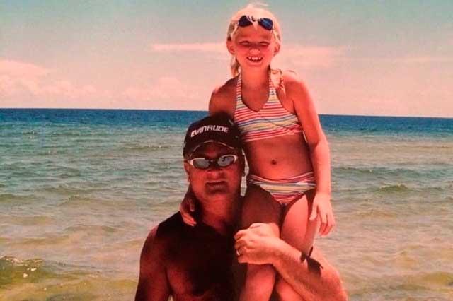 Flores y cartas: Cáncer le quitó la vida a un padre pero no el amor por su hija