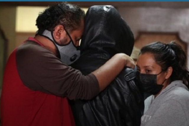 Padres de víctima de Saúl Huerta piden apoyo al Senado