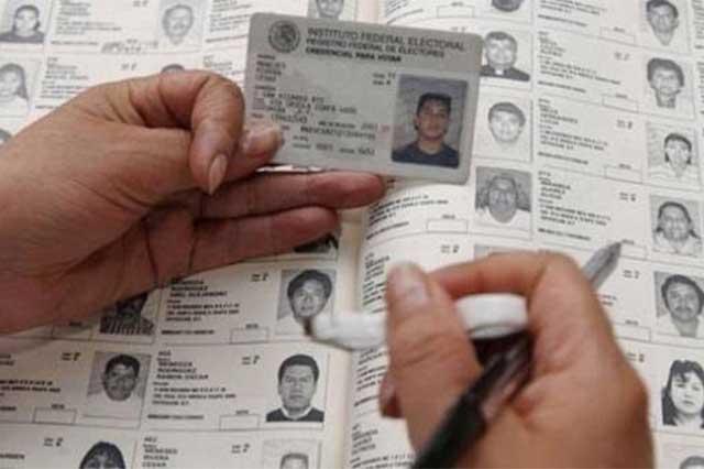 INE ajusta el Padrón Electoral y da de baja a 2.5 millones de ciudadanos