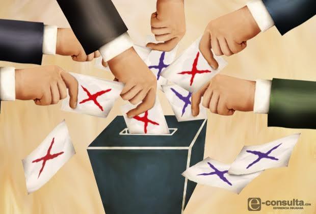 Votación del PES y PRI quedó debajo de su número de militantes