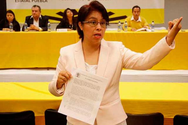 Revisarán el padrón estatal del PRD, anuncia su presidenta