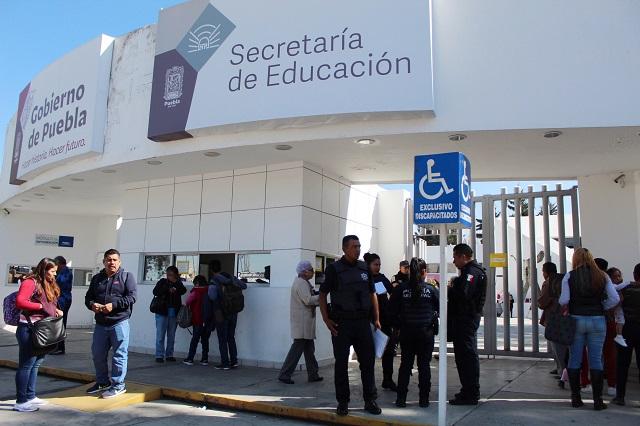 Abren actualización en línea para maestros en Puebla