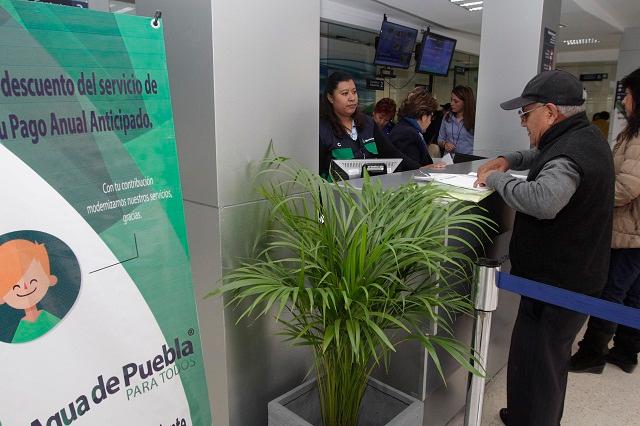 Últimos días para realizar pago anual con tarifa 2017: Agua de Puebla