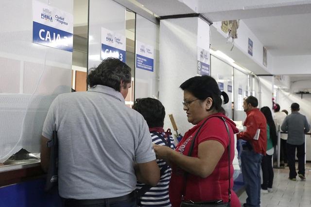 Condona Puebla multas en predial y limpia hasta el 31 de marzo