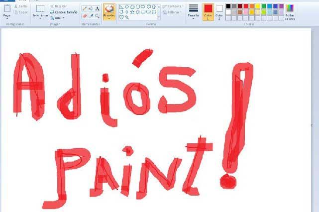 Windows se despide de Paint y memes lo sepultan en Twitter
