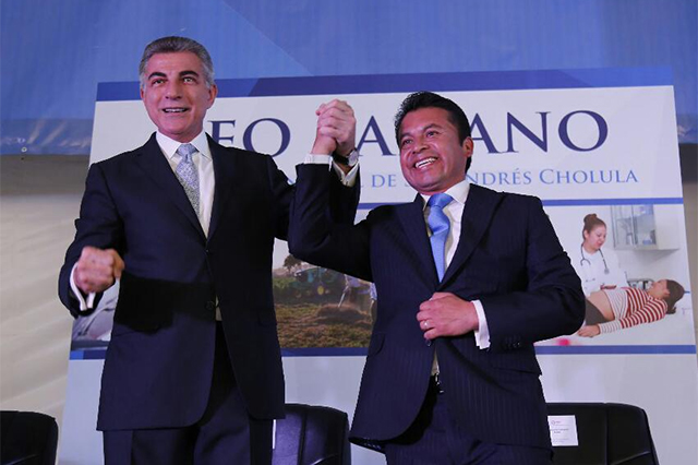 Rinde Leo Paisano cuarto informe de gobierno en San Andrés Cholula