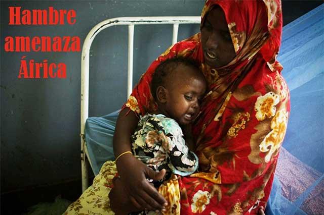 Países de África, en peligro de hambruna