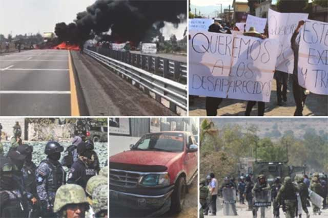 FOTOS: Una semana después, PGR recaba