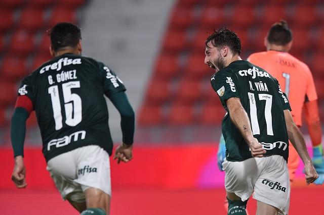 Palmeiras aplasta 3-0 a River Plate y acaricia final de Libertadores