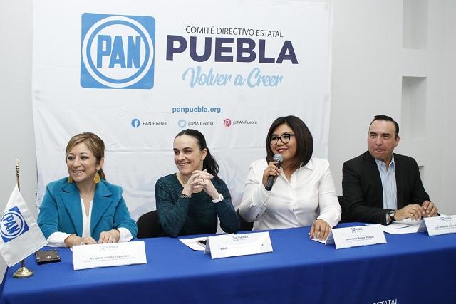 A través de Morena el marinismo quiere regresar a Puebla: PAN