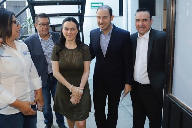 Arenga Cortés a grupos panistas a dar apoyo a Enrique Cárdenas