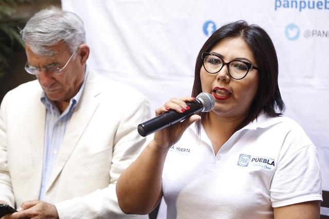 Me quedo en el PAN hasta 2021, advierte Genoveva Huerta