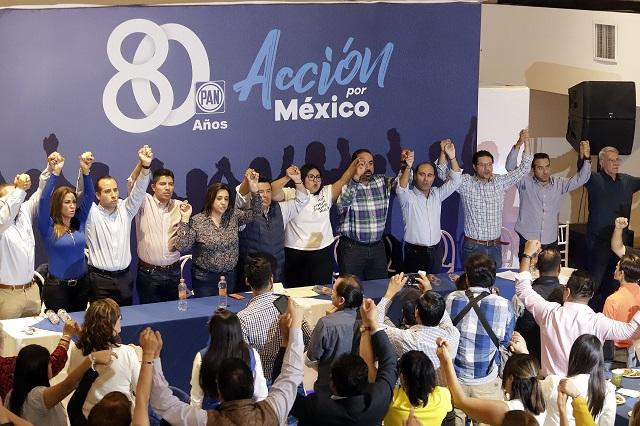 Rivera, Aranda, Riestra y Aguilar, puestos para la alcaldía de Puebla