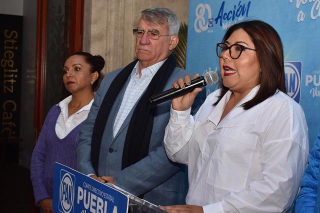 PAN exige a Barbosa no tener presos políticos como RMV