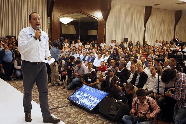 Afirma Marko Cortés que defenderá el triunfo del PAN en Puebla