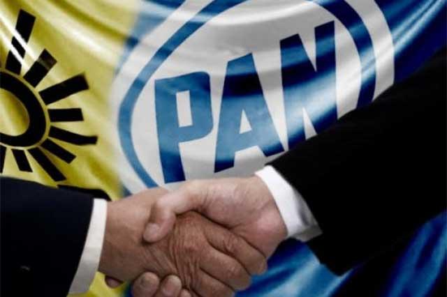 Habrá desbandada por alianza PAN-PRD, dice Molina Carrillo