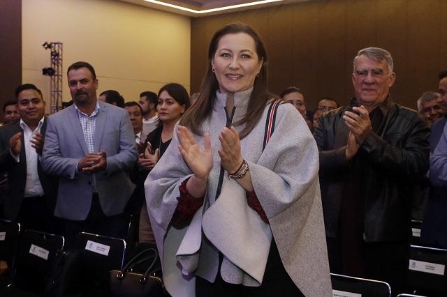 Celebra Martha Erika designación de RMV en el Senado