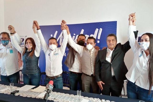 Ray Cuautli y Blanca Jiménez se unen a la candidatura de Mundo Tlatehui