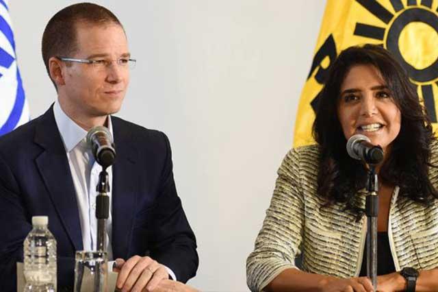 El PAN y el PRD podrían firmar el martes acuerdo para crear el Frente Amplio