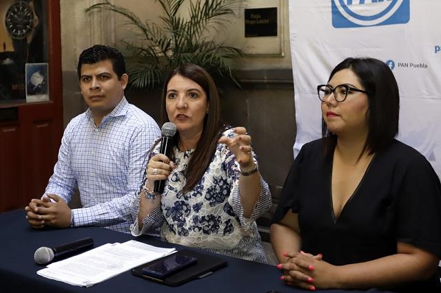 Dice diputada que Barbosa debe continuar obra de gobiernos del PAN
