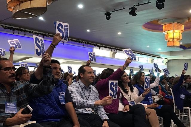 Panistas sostienen a RMV en los consejos estatal y nacional