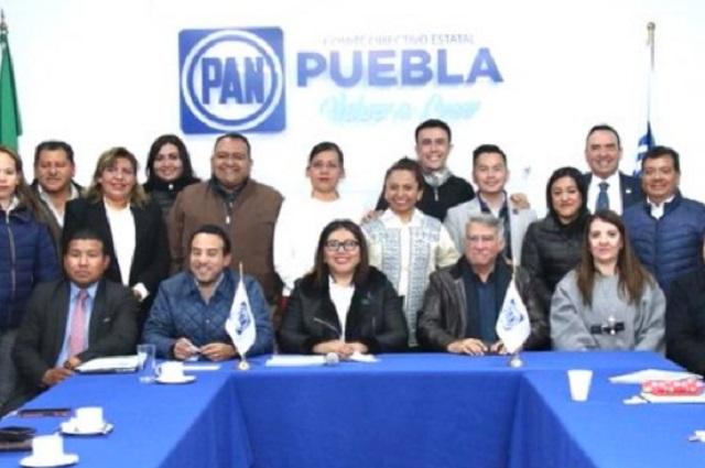 PAN acusa mano de Morena en partido y bloqueo del Congreso