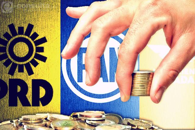 PAN asume control del dinero en coalición Por Puebla al Frente