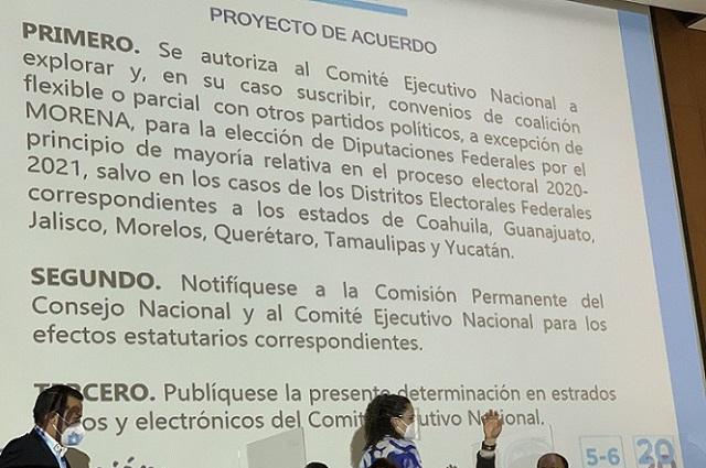 Avala PAN nacional coaliciones con PRI y PRD para 2021