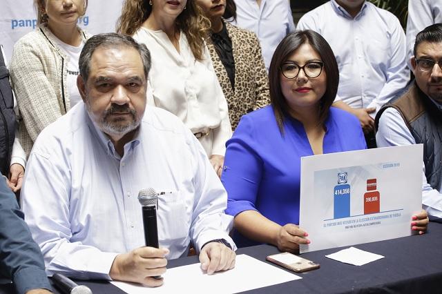 PAN no impugnará elección; pide a Barbosa retractarse de acusaciones
