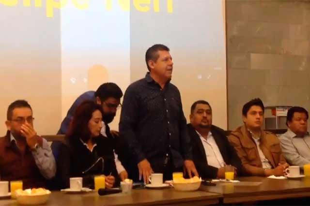 Militantes del Panal demandan contender solos en elección 2018