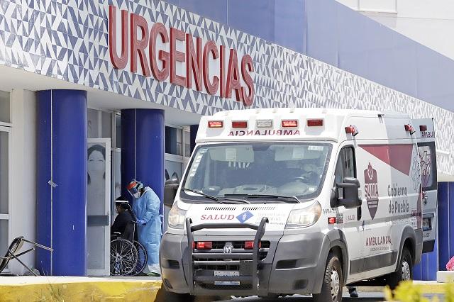Llega Puebla a su pico más alto de contagios Covid-19