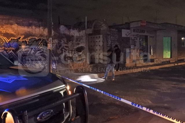 Riñen pandilleros en San Pedro Cholula; hay un muerto y 3 heridos
