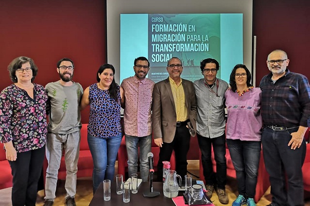 Ibero Puebla realiza conversatorio sobre temas migratorios