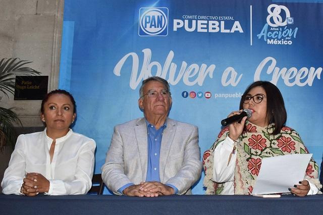 Que FGR investigue a Barbosa por dichos sobre los Moreno Valle: PAN
