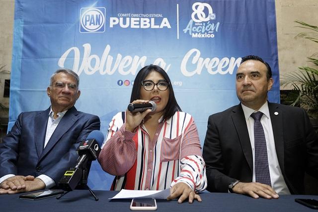 Acusa PAN a partidos y gobierno en Puebla de manosear elección