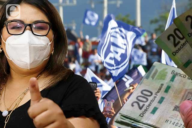 """Ya compran votos para reelegir a Huerta y ella acusa """"guerra sucia"""""""