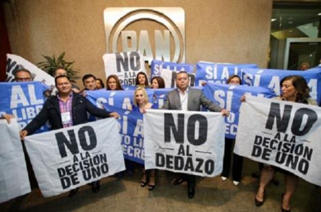 Panistas exigen elección abierta en el Frente y se oponen al dedazo