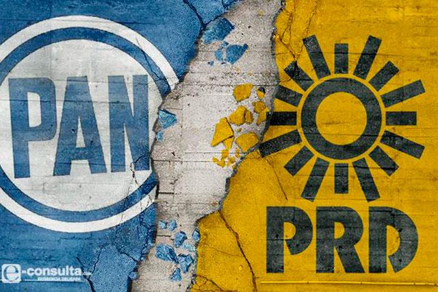 Van 4 en el PRD y echan por tierra alianza con el PAN en Puebla