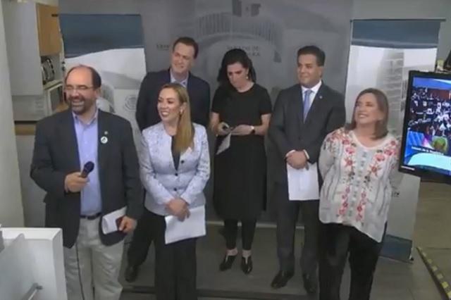 PAN acusa a Monreal de emitir 2 votos en elección de titular de CNDH
