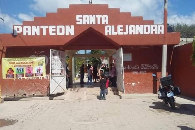 En Tetitzintla buscan ampliar el panteón Santa Alejandra