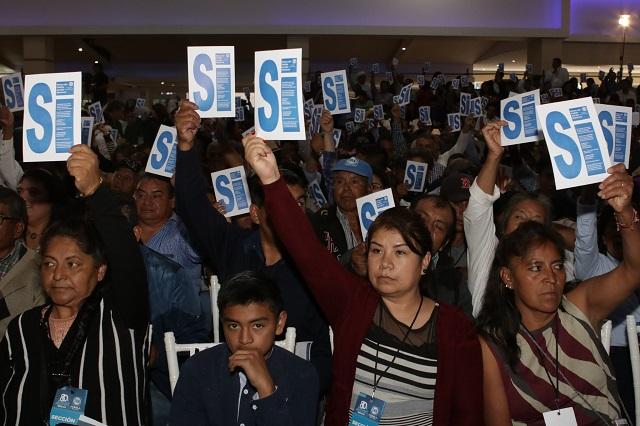 PAN elegirá delegados para reformar sus estatutos