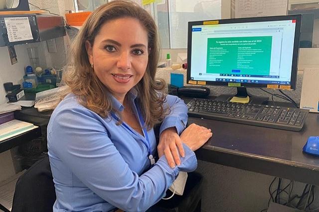 Paola Angón busca candidatura para alcaldía de Cholula