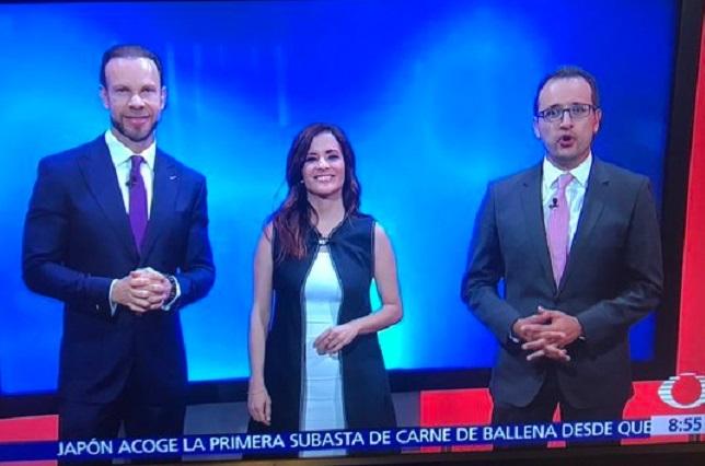 Zague aparece en programa de Televisa de Paola Rojas