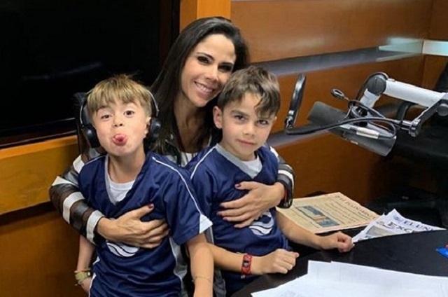 Paola Rojas revela que sus hijos sueñan ser como Zague