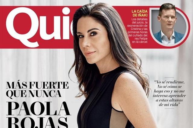 Paola Rojas Sigue Distanciada Y Sin Perdonar A Zague Por Video
