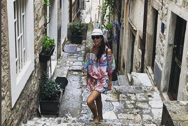 Paola Rojas vacaciona en Croacia y muestra fotos sin Zague