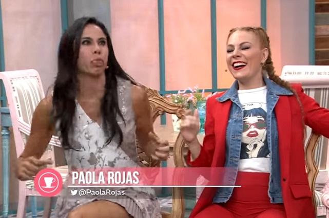 Hijo de Paola Rojas la hace pasar incómodo momento en tv
