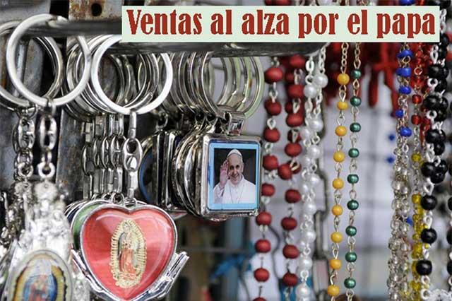 El Papa genera buen impacto económico en México