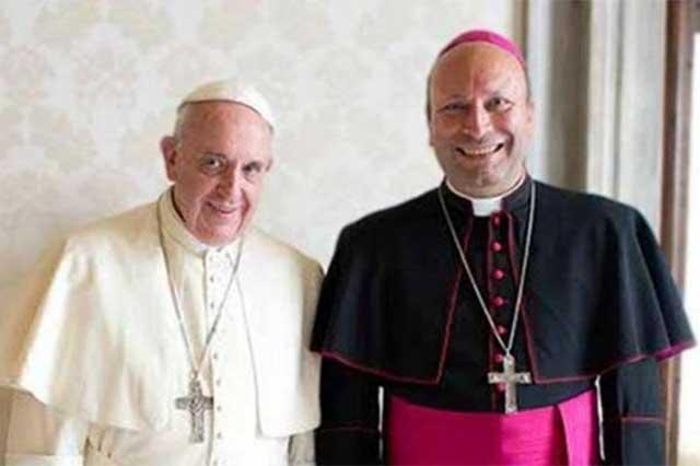 Designa el Papa a Franco Coppola como embajador del Vaticano en México